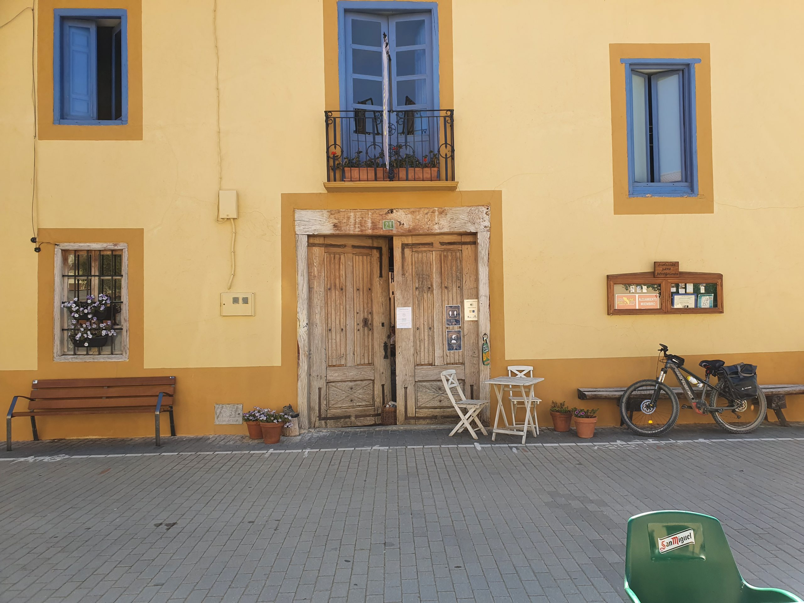Entrance Albergue